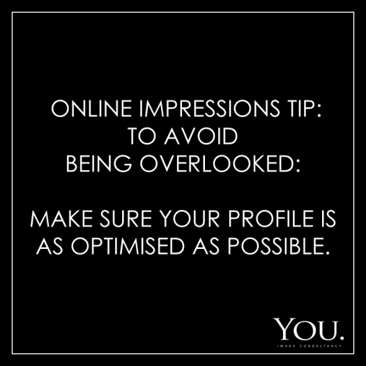 online profile tips