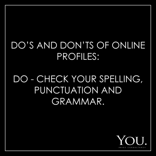 Online Profile Tips